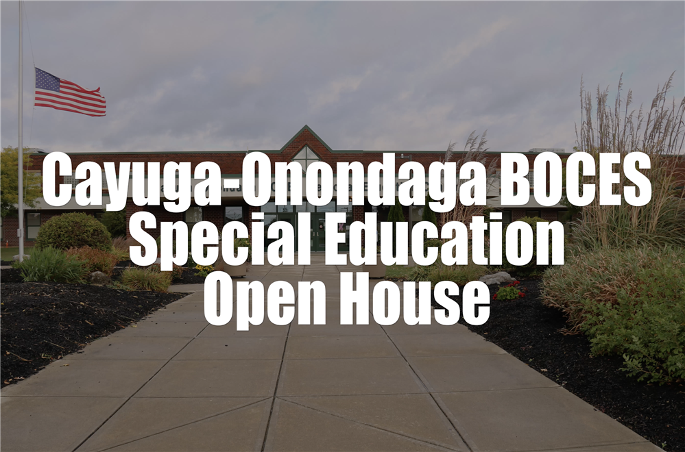 Special Education Virtual Open House